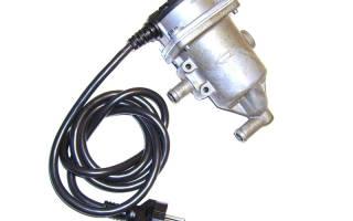 Как установить котел подогрева двигателя тойота