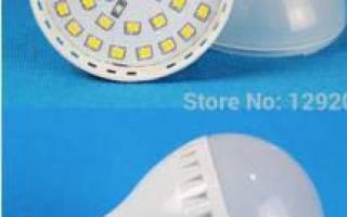 Как заменить светодиод в лампочке на 220в