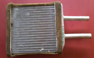 Как снять радиатор печки на матизе