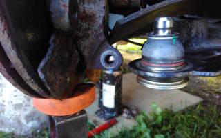Как проверить шаровую на рено логан