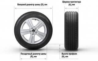 Высота профиля шины что это такое