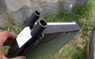Как поменять радиатор печки приора без кондиционера