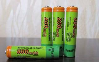 Заряжающиеся батарейки как определить