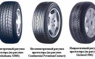 Ассиметричные шины как правильно установить