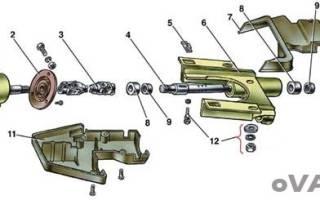 Как снять рулевой редуктор ваз 2107