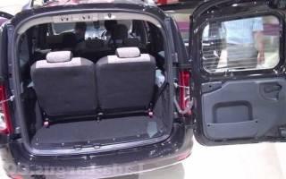 Лада ларгус сколько мест в машине