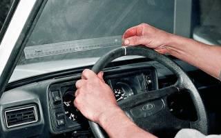 Как убрать люфт в рулевой колонке