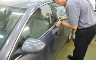 Как открыть дверь машины