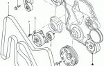 Как поставить ремень на форд транзит