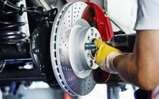 Как поменять задние колодки форд фокус 3