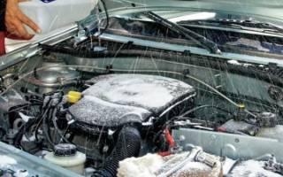 Как отогреть омыватель в автомобиле