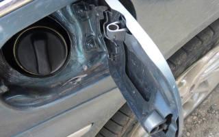 Как открыть люк бензобака