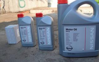 Кто производит масло ниссан
