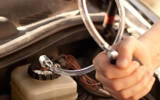 Как прокачать тормоза на автомате