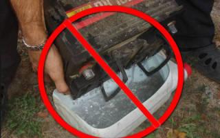 Как заменить электролит в аккумуляторе автомобиля
