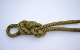 Как связать морской узел