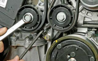 Как поменять ремень генератора на рено логан