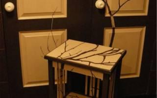 Как отреставрировать старую мебель в домашних условиях