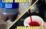 Как заменить жидкость в гур