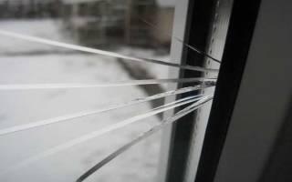 Как снять стекло пластикового окна