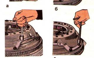 Как ставится диск сцепления на зил