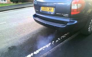 Почему дымит дизельный двигатель синим дымом