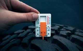 Как определить износ зимних шин