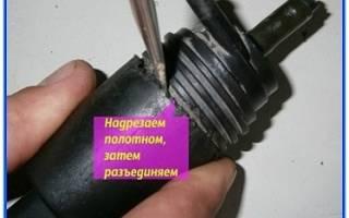Как разобрать моторчик омывателя