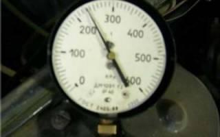 Как проверить давление топлива в рампе