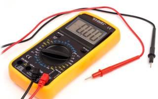 Как проверить высоковольтные провода на авто мультиметром
