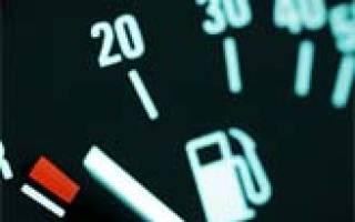 Как подключить датчик уровня топлива