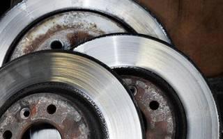 Как определить износ тормозного диска