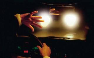Как правильно отрегулировать свет фар