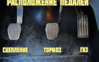 Как тронуться с места на машине механика