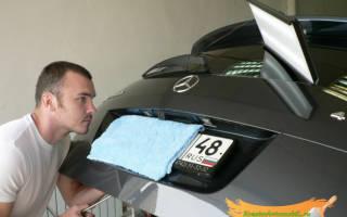 Как убрать вмятину на машине своими руками